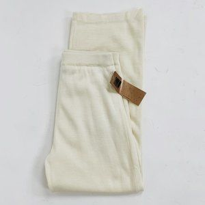 NWT Vintage High Rise Knit Pants in Cream